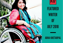 Meet Abha Khetarpal – FII's Featured Writer Of July 2018!