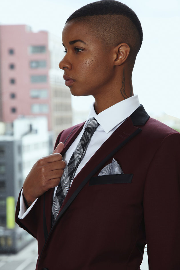 Sharpe Suiting creates suits for butch, androgynous and masculine-of-center individuals.