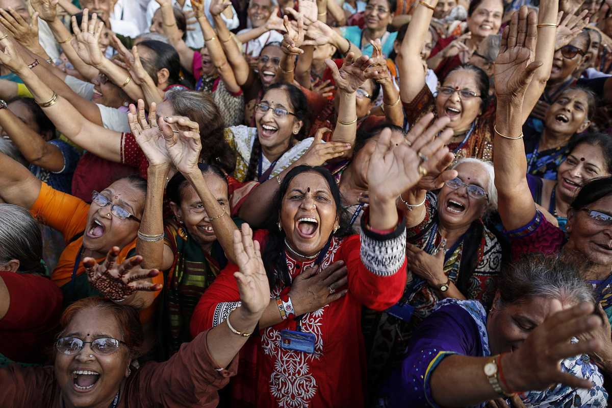 Why Are Woman's Laughter Always Loud, Immoral, and Unsanskari?