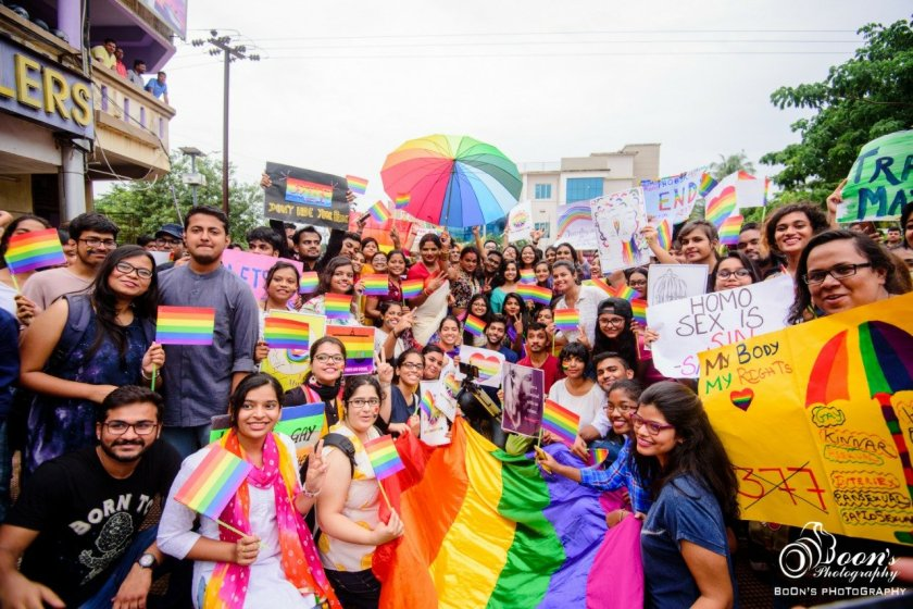 In Photos: Bhubaneswar Pride March 2018