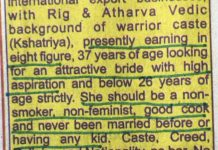 Student Replies To Sexist Matrimonial Ad, Gets Rape Threats In Return