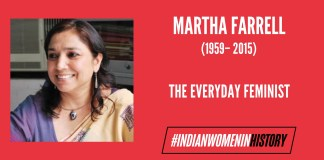Martha Farrell: The 'Everyday Feminist' | #IndianWomenInHistory