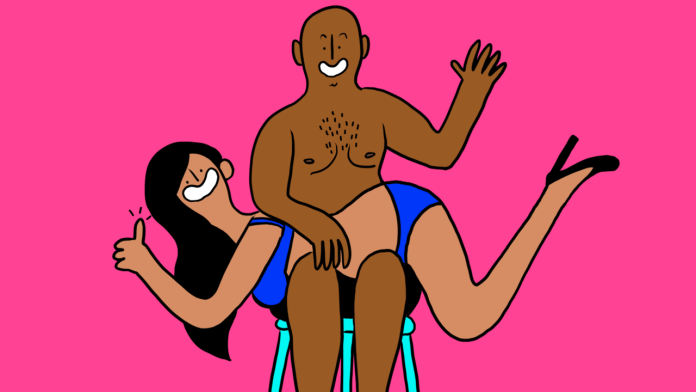graphic of consensual spanking