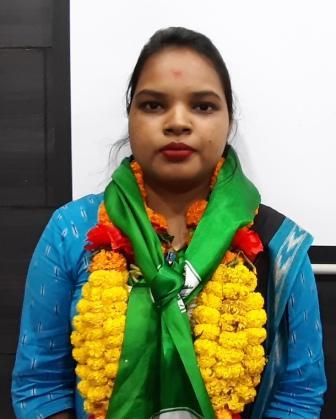 Chandrani Murmu BJD Youngest Woman MP Odisha