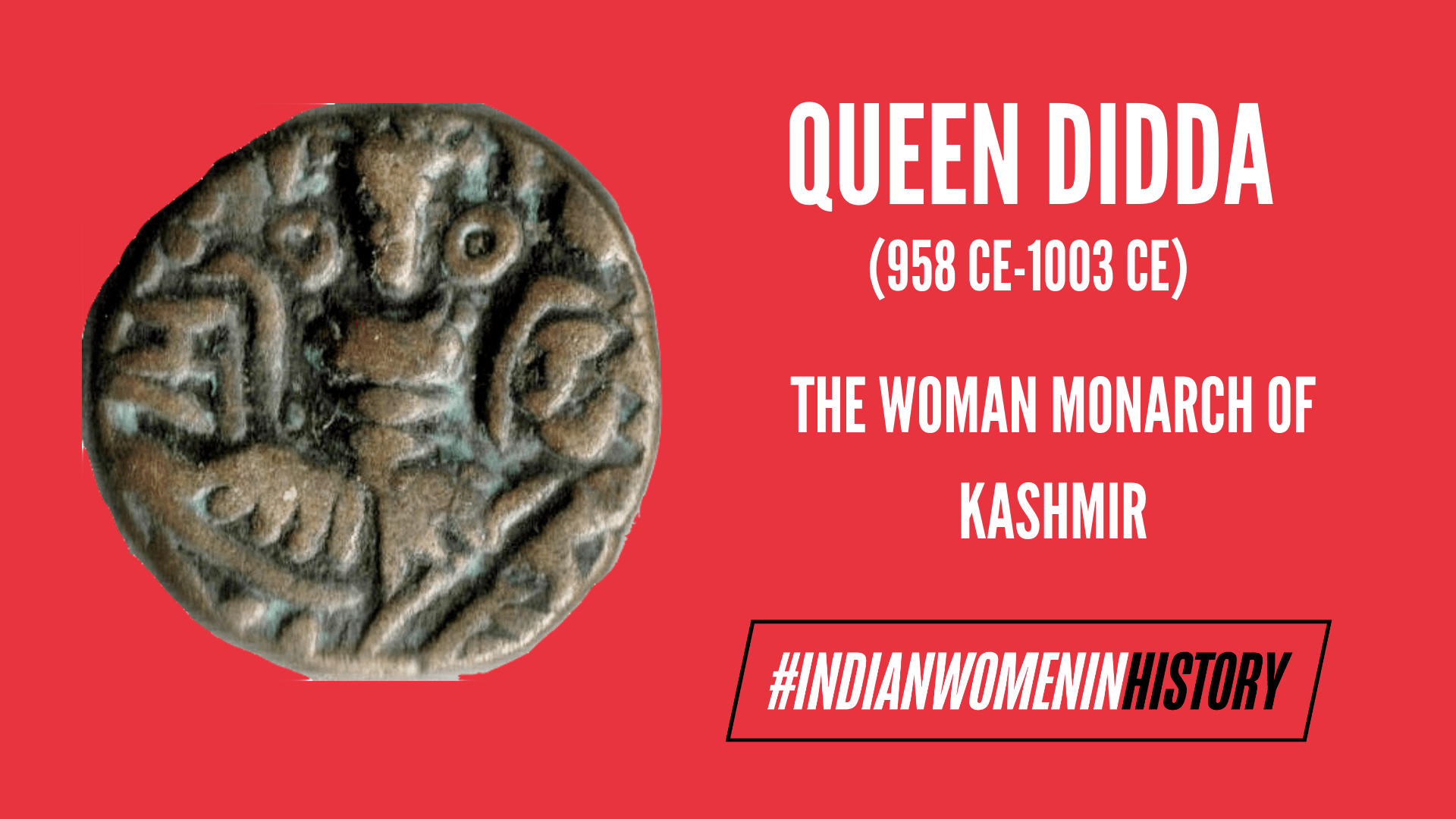 Queen Didda: The Woman Monarch Of Kashmir | #IndianWomenInHistory