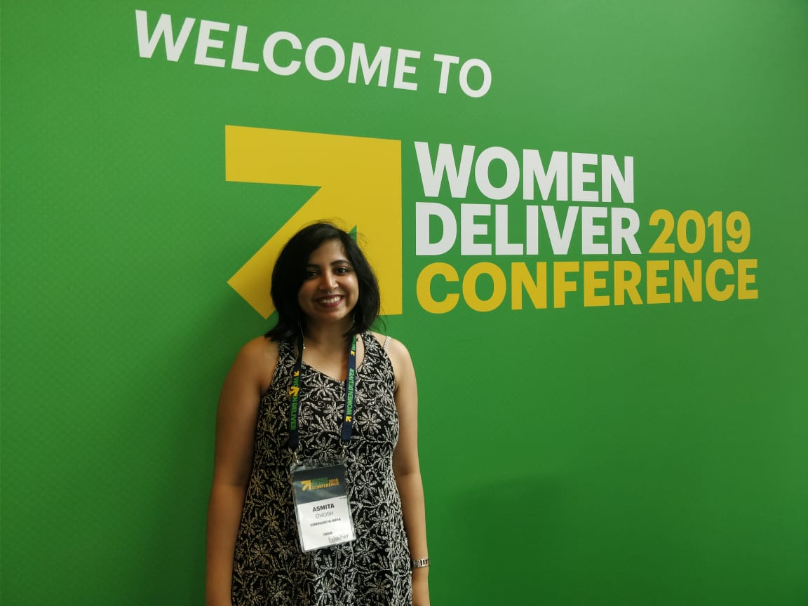 Asmita ghosh at women deliver 2019