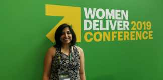 Asmita ghosh at women deliver 2019