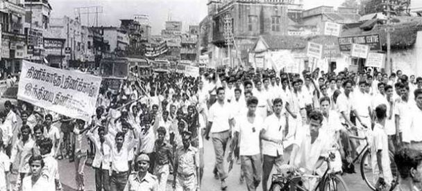 The History of Anti-Hindi Agitations In Tamil Nadu