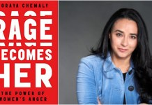 Book Review: Rage Becomes Her: The Power Of Women's Anger By Soraya Chemaly