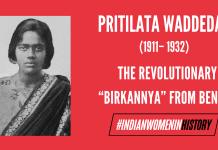 "Pritilata Waddedar: The Revolutionary ""Birkannya"" From Bengal| #IndianWomenInHistory"