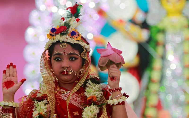 Kumari Puja In Nepal And India: A Dichotomy In Hinduism