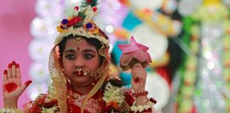 Kumari Puja In Nepal And India: A Dichotomy In Hinduism