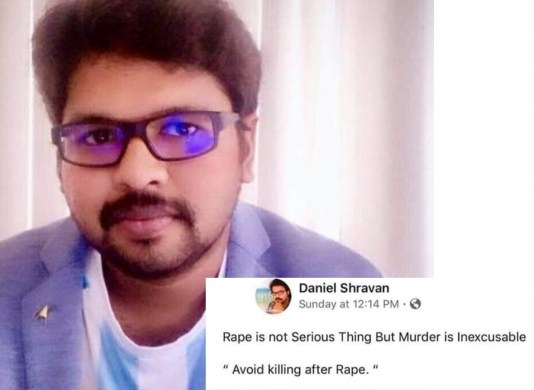 """Why Do Men Like Daniel Shravan, Want Women To Be """"Raped Without Violence""""?"""