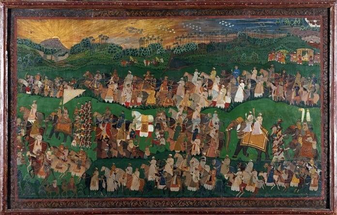 Maha Laqa in the battlefield