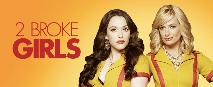 2 Broke Girls wallpaper - binge-able sitcoms
