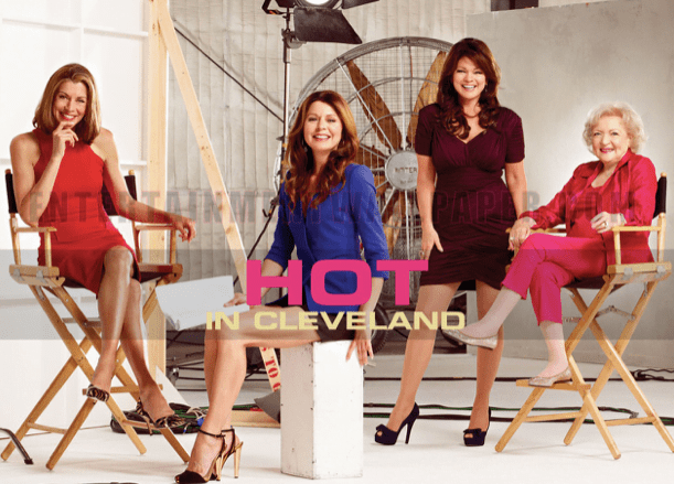 hot in Cleveland wallpaper - binge-able sitcoms