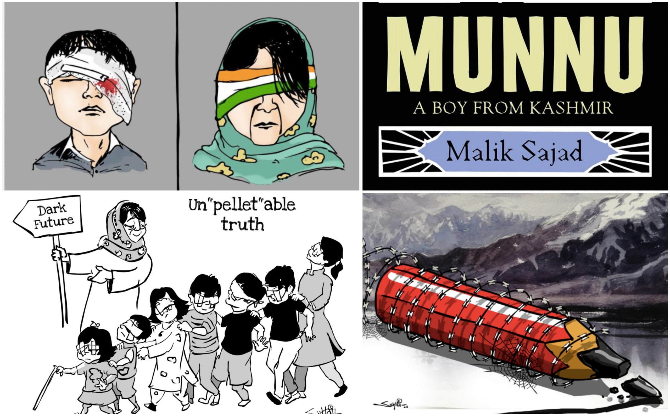 Kashmir's Political Cartoon Culture And The Power That It Symbolises