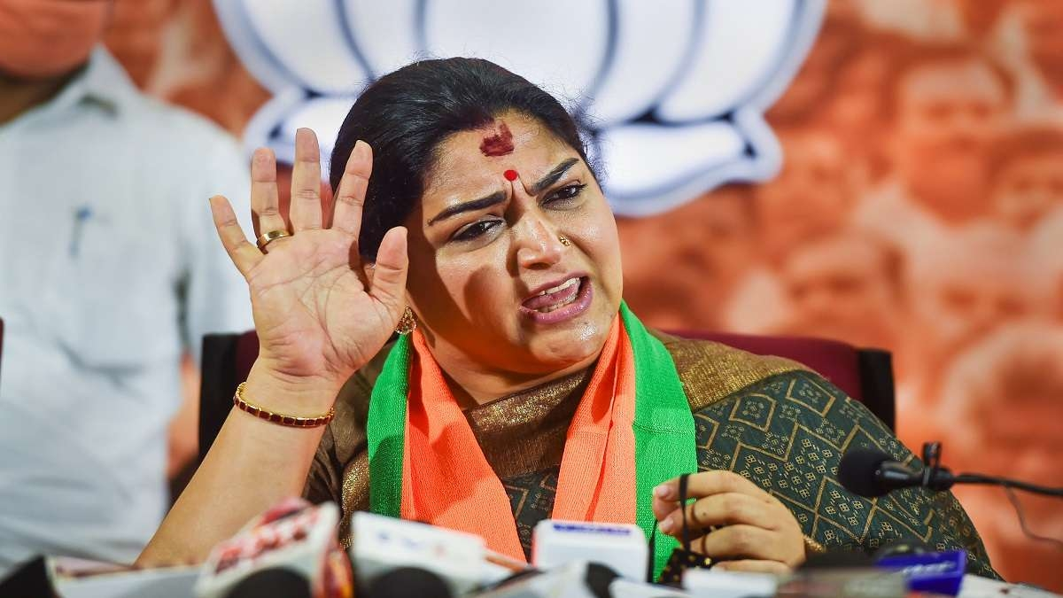Why It is Important To Call Out Khushbu Sundar For Saying The'R' Word