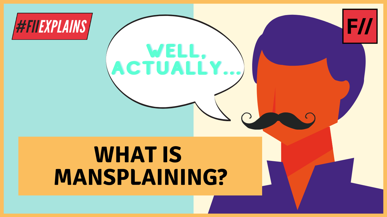 what is mansplaining?