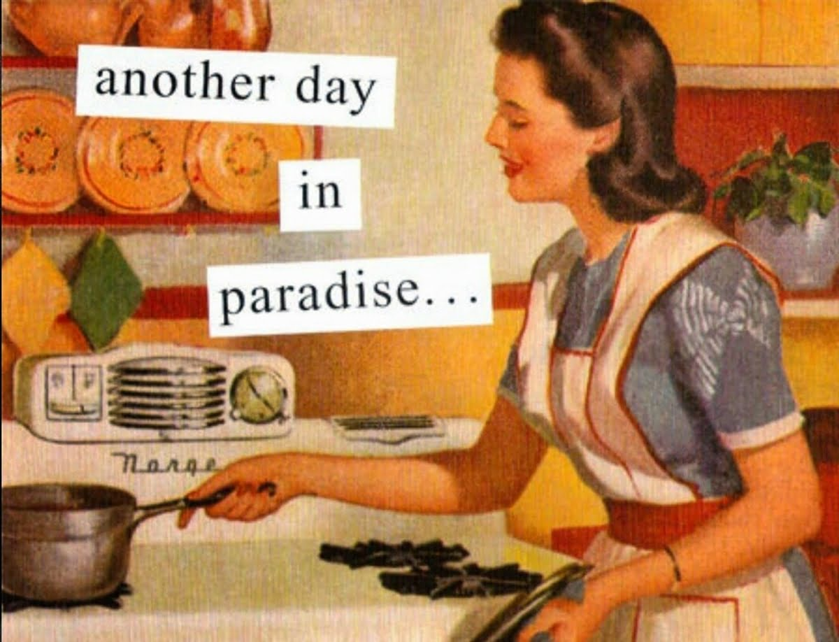 If Not Women, Then Who (Will Do The Household Chores)?
