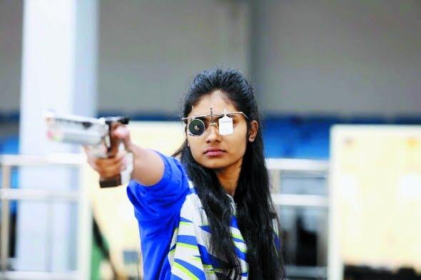 MP's shooting star Rubina Francis