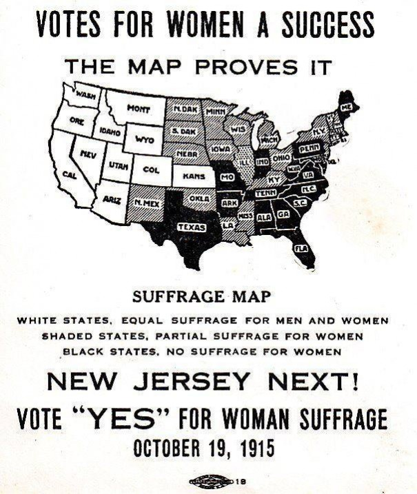 Today in 1915: Suffragists Set Their Sights on Eastern