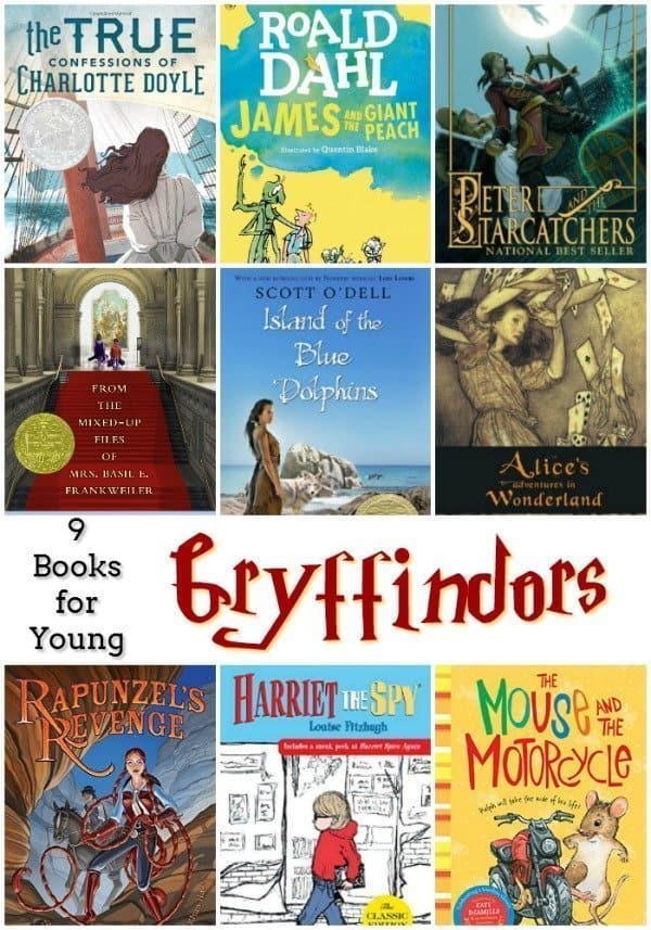 9 Books for Young Gryffindor