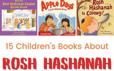 15 Children's Books About Rosh Hashanah