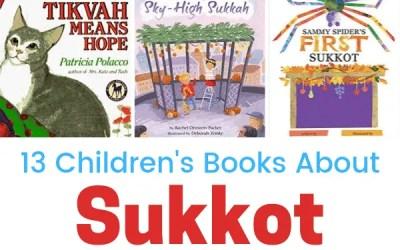13 Children's Books About Sukkot
