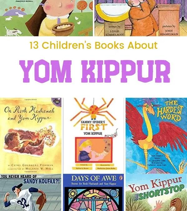 13 Children's Books About Yom Kippur