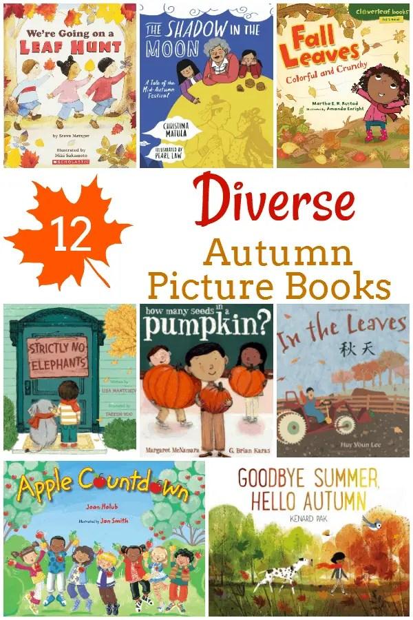 12 Diverse Fall Picture Books