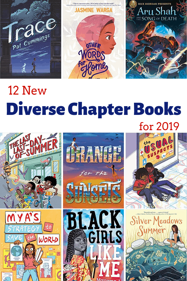 12 New Diverse Middle Grade Chapter Books