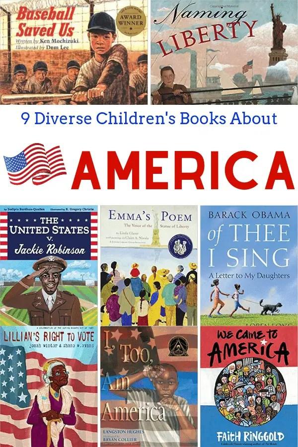 Diverse Children's Books About America
