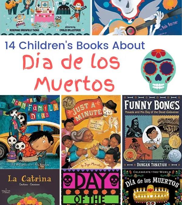 14 Dia de los Muertos Children's Books
