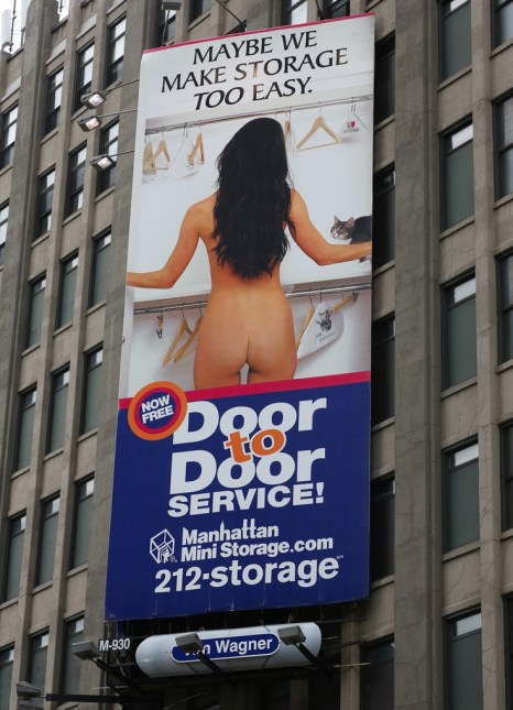 Obviously, when I think about moving, I think about a naked lady. How did you guys know?!