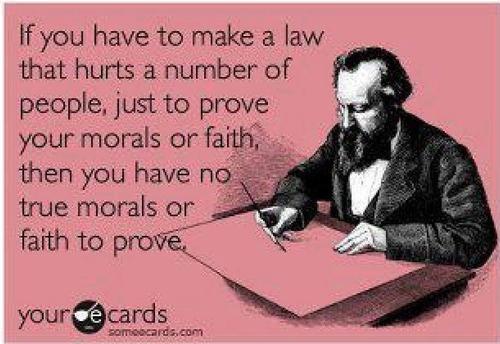 Morals or Faith