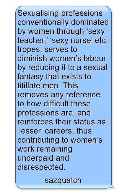 Sexualising Professions