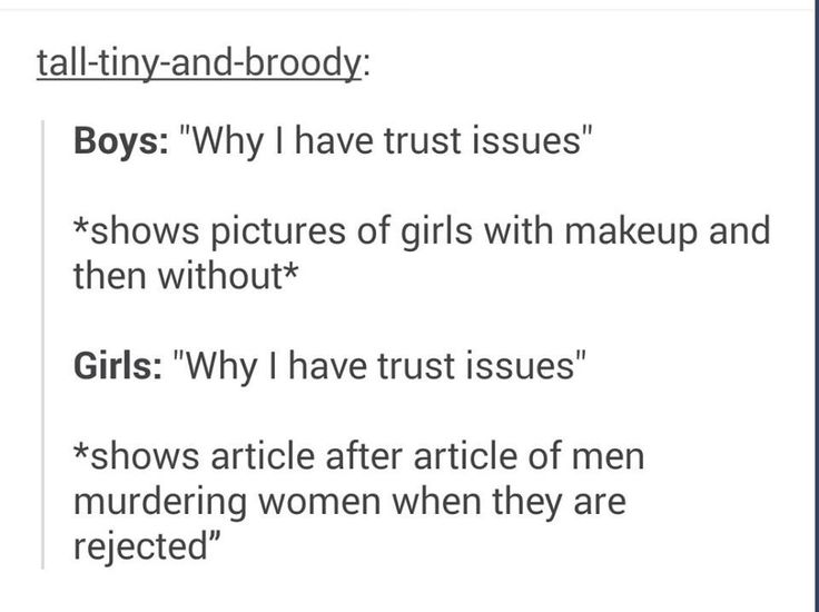 Trust Issues