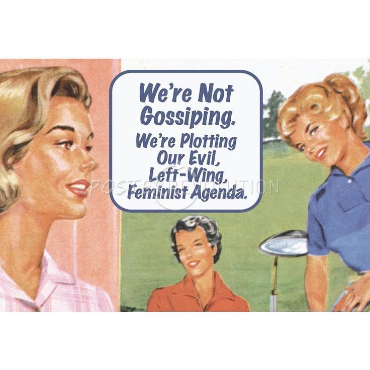 We're Not Gossiping