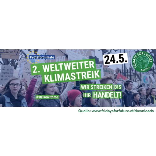 Fridays, Parents & Teachers For Future AUSTRIA - In Österreich wird miteinander, Seite an Seite, gestreikt: Weltweiter Klimastreik geht in die zweite Runde | 24.5.2019