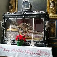 St. Munditia, matron saint of spinsters, Munich, Germany