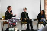 Penni Russon, Emma Ashmere and Merlinda Bobis in 'Feminism through fiction'