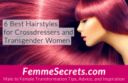 6 hairstyles crossdressers