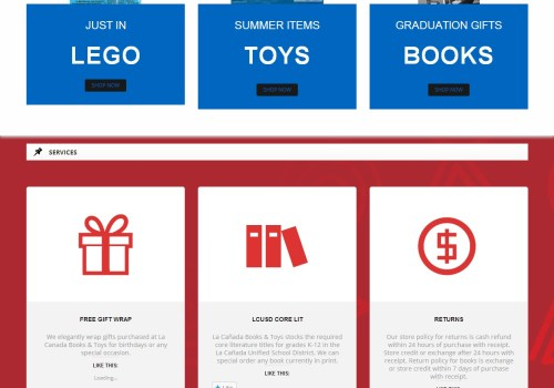 La Canada Books And Toys
