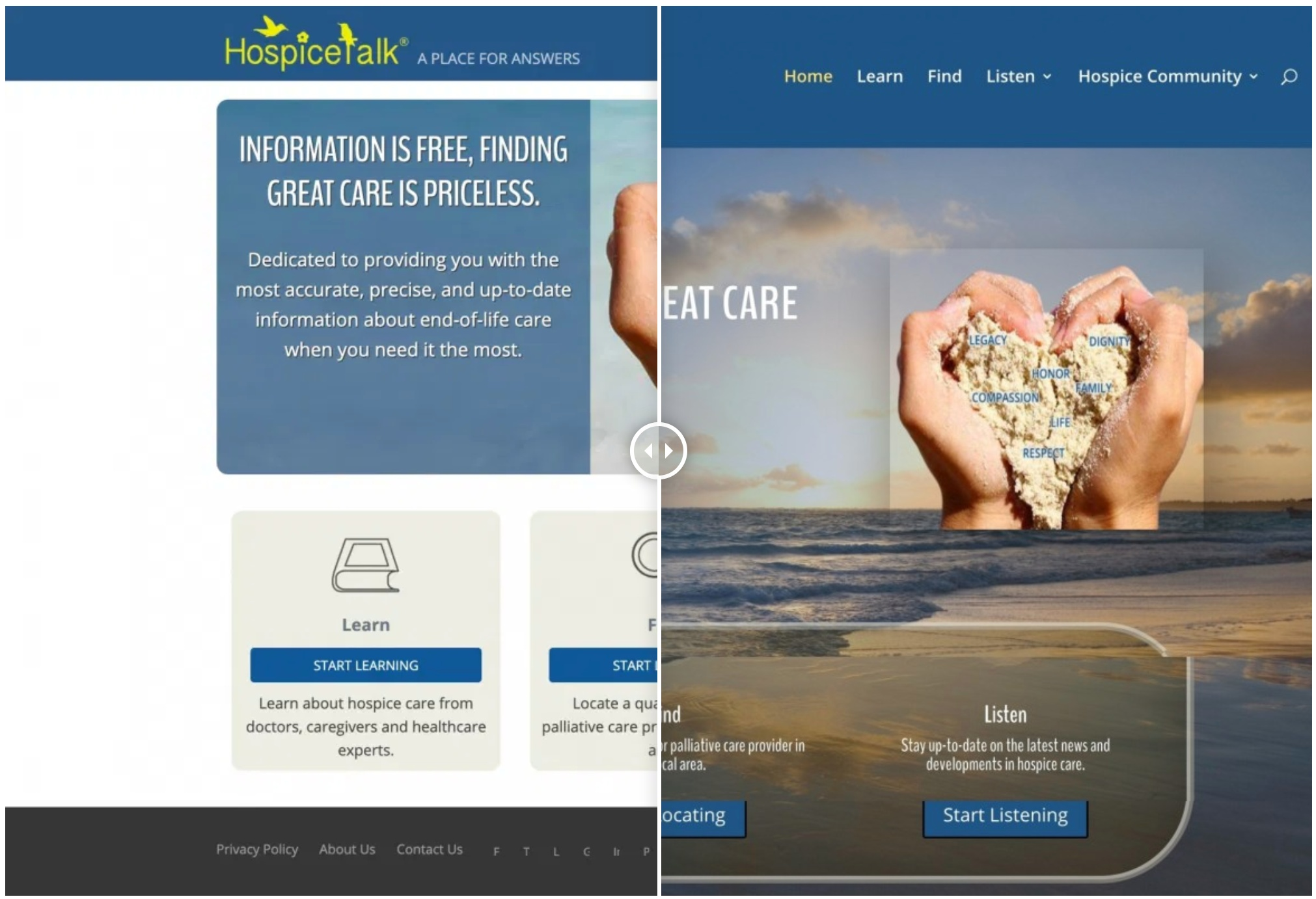 HospiceTalk Redesign – Femino Web Designs.clipular
