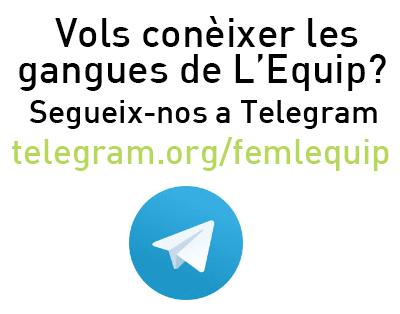 Les ganges de L'Equip!