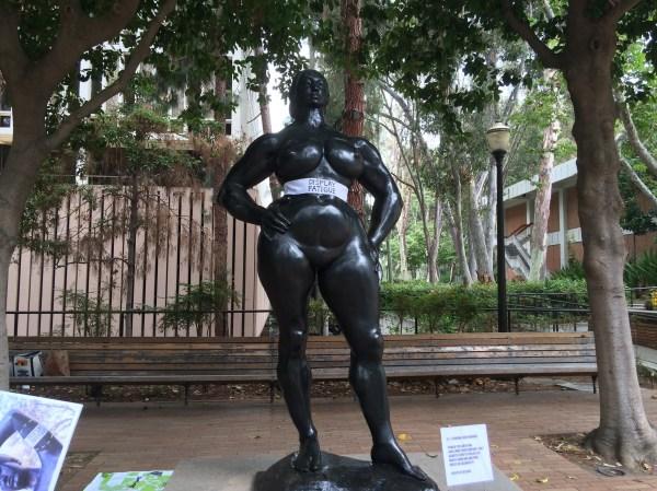 Display Fatigue Feminist Read Ucla' Sculpture