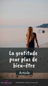Gratitude et bien-être