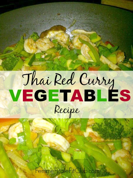 Thai Red Curry Vegetables Recipe