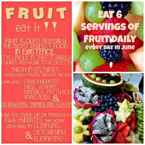 Fresh Fruit Challenge